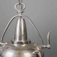Lovely Hanglamp Raw II nikkel Zeer stoere hanglamp in robuust grof nikkel Super afgewerkt met