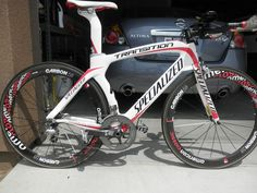 2009 Specialized Transition Expert large Time Trial bike