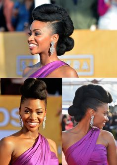Best #natural #hair #updo EVER