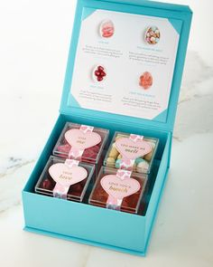 4-Piece Candy-Filled Valentine\'s Day Gift Box by Sugarfina at Neiman Marcus.