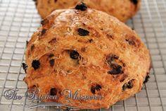 Cranberry Almond Citrus Crusty Bread1