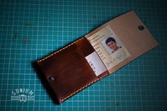 A special Wallet for an old and bigger ID card.