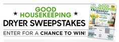 Babybear's Freebies, Sweeps and more!: Win a Dryer  From Good HouseKeeping!!!