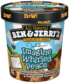 The fudge pieces with caramel icecream is just awesome, nevermind that it happens to be a flavor dedicated to the late and great John Lennon!