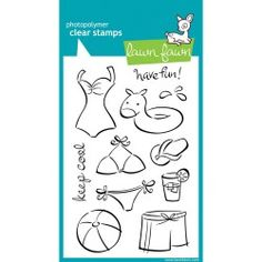 SELLOS CLEAR STAMPS LAWN FAWN