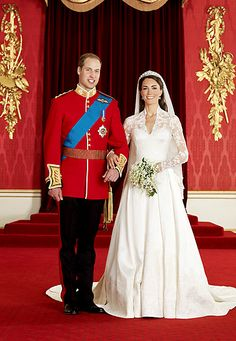 29. April 2011:  Prinz William und Kate Middleton.