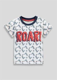 Boys Dinosaur T-Shirt (3mths-5yrs)