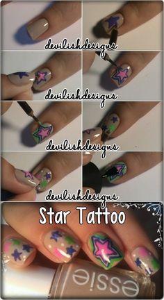 Star Tattoo Tutorial