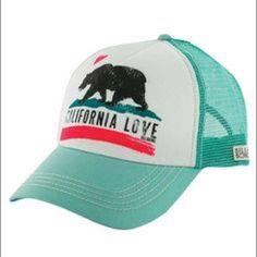 Hurley Hat Women's California love hat. Good condition. Hurley Accessories Hats