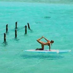 oceanyoga: Standup Paddleboard Yoga