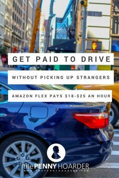 Want to make money with your car, but don't like the idea of picking up a bunch of strangers? Amazon might have just the gig for you. - The Penny Hoarder http://www.thepennyhoarder.com/get-paid-to-drive-amazon-flex/