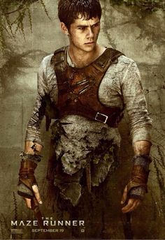 Dylan O' Brian in The Maze Runner! #thebestbookseries