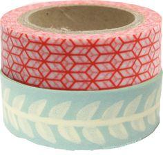 Fita Decor  / Washi Tape : Washi Tape Folhas