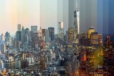Richard Silver combines sequential photos to show the passage of time.