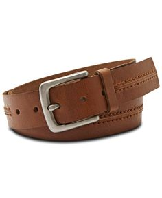 Fossil Theo Casual Leather Belt