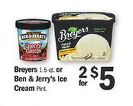 Save up to $3.25 HERE on 4 BEN & JERRY'S® Ice Cream Pints! That's ONLY $1.67 each when you buy 4 (at @Åsa Meijer this week)