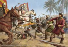 Battle of Arsuf by jasonjuta on DeviantArt