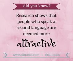 #FactOfTheDay #DidYouKnow #language #xl8 #t9n #FactTuesday