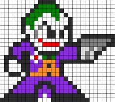 Joker Perler Bead Pattern