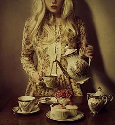 a tea with alice...