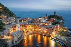Vernazza village in Cinque Terre | Flickr - Photo Sharing!