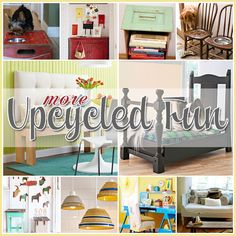 The Cottage Market: More Upcycled Fun Another journey to the upcycling world Super great ideas on here!