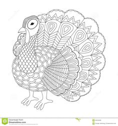 Coloring pages for adults Coloring bookDecorative hand drawn