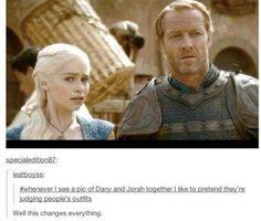 Game of thrones tumblr Daenerys Targaryen Jorah Mormont
