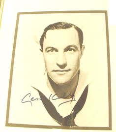 Gene Kelly  Autographed Signed Photograph Framed