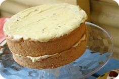 (After all that sponge making and eating on the weekend I thought it only fitting to re-post Nan's famous sponge recipe from the archives. Sponge Recipe, Sponge Cake Recipes, Cake Cookies, Cupcake Cakes, Cupcakes, Anzac Biscuits, How To Make Icing, Decadent Cakes, Cake Bars