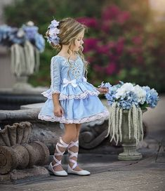 Image may contain: 1 person, shoes Toddler Girl Dresses, Little Girl Dresses, Girls Dresses, Flower Girl Dresses, Cute Girl Outfits, Kids Outfits, Baby Girl Fashion, Kids Fashion, Spanish Baby Clothes