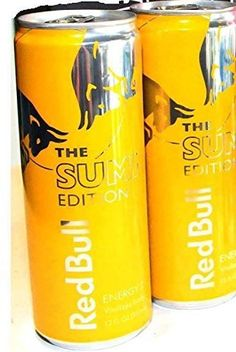 Red Bull LIMITED SUMMER EDITION Energy Drink - 12-Ounce Tropical Fruit Flavor