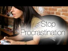Press play to learn how to overcome procrastination & repin if you loved this advice! For more, click here: www.marieforleo.com.