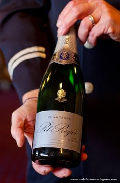 Champagne flows on Viking Line's boats this May