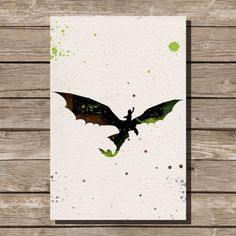 How to Train Your Dragon watercolor illustrations by ThunderDoam, $15.00