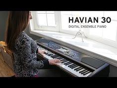 Korg Havian 30 digital ensemble piano. Brand new release from #Korg keyboards