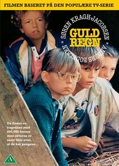 Guldregn: Danish TV series about some kids that find a lot of money from a robbery...