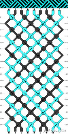 Схема фенечки 17246