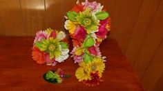 Daisies and Gerber Daisies (1 Set On Sale!!!) - Silk Wedding Flowers For Less!