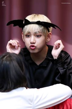 Taehyung/V- Tae is one of my bias to be honest. He's an adorable goofball!