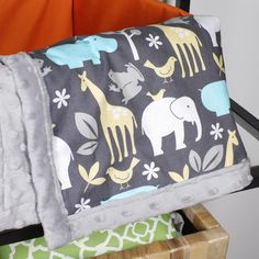 How To Sew an Easy Baby Blanket | OFS Maker's Mill