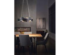 Moderne 2 Light LED Chandelier/Pendant SN