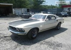 1969 FORD MUSTANG VIN: 9T02F195140