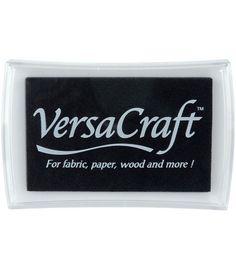 Tsukineko VersaCraft Inkpad-Real Black, , hi-res