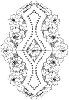 cutwork napkin 49 x 34 cm Floral Embroidery Patterns, Cutwork Embroidery, Hand Embroidery Designs, Engagement Ring Rose Gold, Lace Painting, Sewing Machine Embroidery, Wadi Rum, Pillowcase Pattern, Point Lace