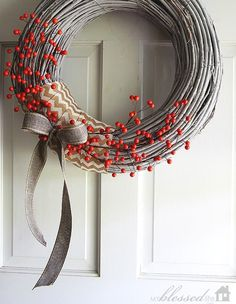 Outdoor Christmas Wreaths, Christmas Wreaths For Front Door, Holiday Wreaths, Christmas Crafts, Winter Wreaths, Spring Wreaths, Summer Wreath, Homemade Christmas, Diy Snowman Decorations