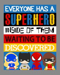 Superhero Wall Art. Superhero Room Decor. by LittleLifeDesigns