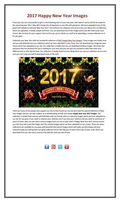 2017 Happy New Year Images Celebrate your New Year with the wonderful… Happy New Year 2017 Wallpapers, New Year 2017 Images, Happy New Year Images, Gods Grace, News, New Year Images, Happy New Year