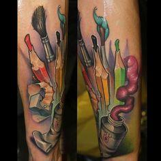 @kwadron @electricink @inkeeze  @family_art_tattoo
