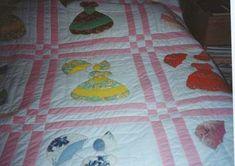 Parasol girl quilt